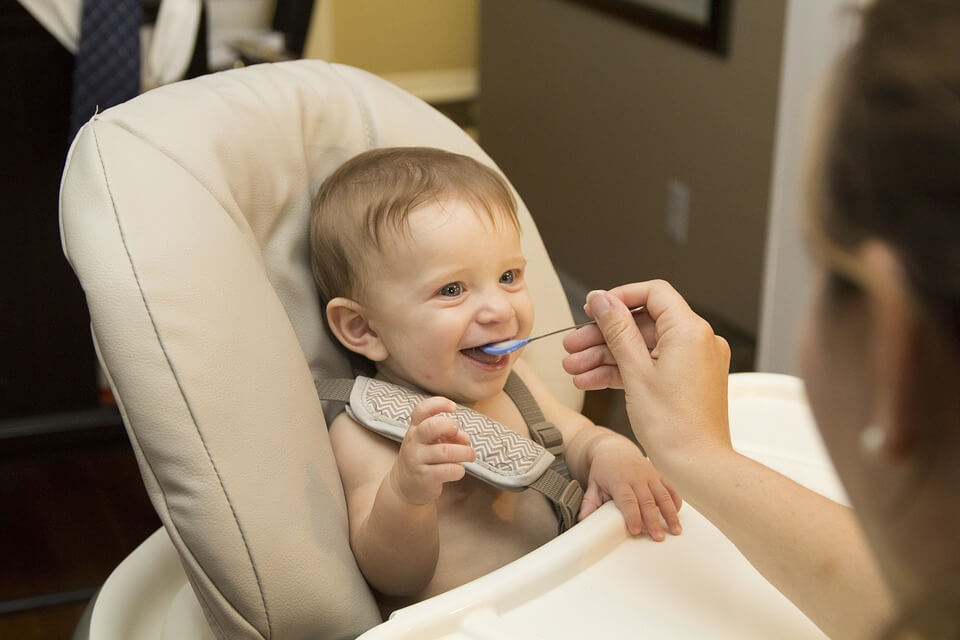 Healthy baby weaning foods